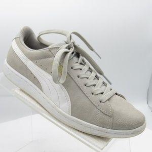 Puma Classic Sz 7.5 Gray Sneakers Womens C1A A43